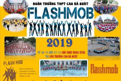 """Cuộc thi Nhảy dân vũ và FlashMod  – Chủ đề """"Sắc màu tuổi trẻ"""" 2019"""