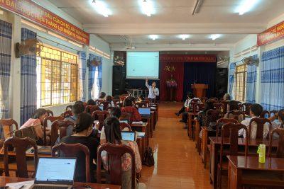 Tập huấn dạy học trực tuyến cho giáo viên