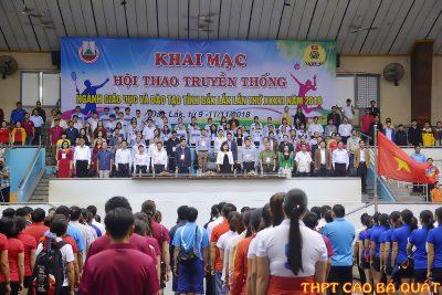Hội thao truyền thống Ngành Giáo dục và Đào tạo tỉnh ĐăkLăk năm 2018